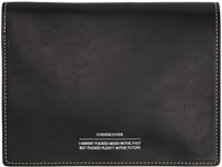 Undercover Black Leather Bifold Wallet