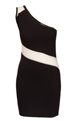 Indulgence One Shoulder Dress Black