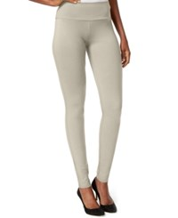 Inc International Concepts Petite Pull On Seamless Leggings Only At Macy's Toad Beige