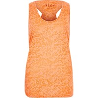 River Island Womens Orange Double Layer Tank Top