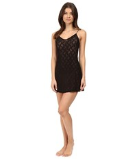Only Hearts Club Stretch Lace Chemise Black Women's Pajama