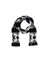 Scee By Twin Set Oblong Scarves Black