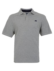 Raging Bull Big And Tall New Signature Polo Shirt Grey
