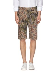 The Editor Trousers Bermuda Shorts Men Military Green