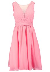 Chi Chi London Amana Cocktail Dress Party Dress Coral