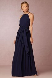Anthropologie Alana Dress Navy