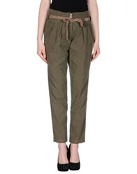 H. Eich Casual Pants Military Green
