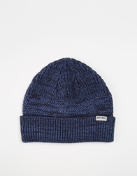 Jack Wills Wainscott Beanie Hat Blue