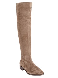 Phase Eight Melody Suede Long Boots Taupe