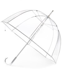 Totes Signature Manual Bubble Umbrella Clear Bubble