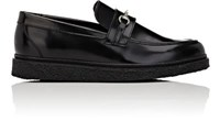 Opening Ceremony Women's Sloan Spazzolato Leather Loafers Black