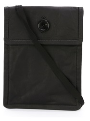 Ann Demeulemeester Button Fastening Cross Body Bag Black