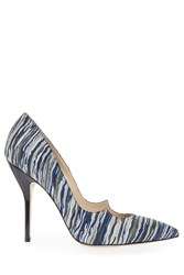 Paul Andrew Zenadia Suede Heels Blue
