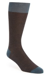 Pantherella Men's 'Vintage Collection Blenheim' Merino Wool Blend Socks Teal