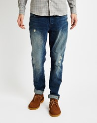 Only And Sons Mens Regular Fitted 5 Pocket Jeans Blue