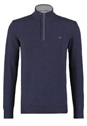 New Man Wend Jumper Navy Dark Blue