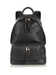 Balenciaga Leather Backpack Grey