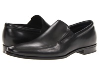 Gordon Rush Elliot Black Calf Men's Slip On Dress Shoes