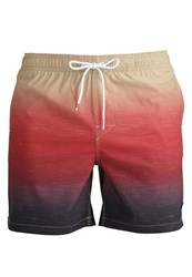 Rusty Troppo Swimming Shorts Red