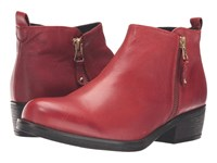 Eric Michael London Red Women's Boots