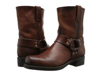 Frye Harness 8R Cognac Oiled Vintage Men's Pull On Boots Brown