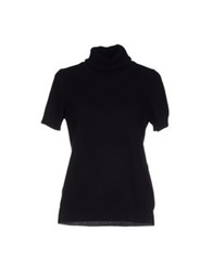 Gotha Turtlenecks Black