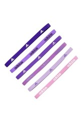 Adidas Fighter Hairband Pack Of 6 Pink