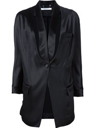 Givenchy Deconstructed Tuxedo Jacket Black