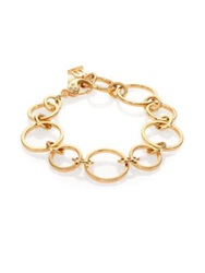 Temple St. Clair Celestial Diamond And 18K Yellow Gold Round Link Chain Bracelet