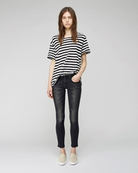 R 13 Kate Skinny Jean Orion Black
