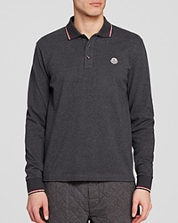Moncler Maglia Long Sleeve Polo Regular Fit