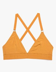 Triangle Bra In Caramel