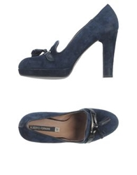Alberto Fermani Moccasins Dark Blue
