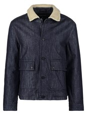 Your Turn Light Jacket Raw Indigo Raw Denim