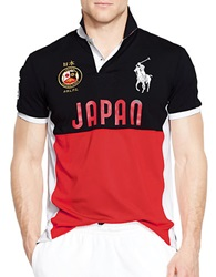 Polo Ralph Lauren Japan Performance Mesh Polo Shirt African Red
