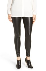 Hue Women's 'Leatherette' Faux Leather Leggings