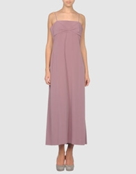 Peter Aedo Long Dresses Pastel Pink