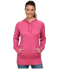 Columbia Rapid Ridge Full Zip Hoodie Foxglove Heather Women's Sweatshirt Pink