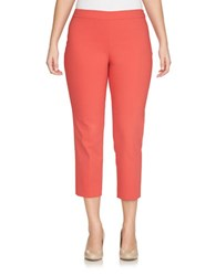 Chaus Ankle Length Pants Coral