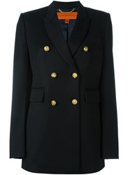 Tommy Hilfiger Double Breasted Blazer Black