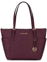 Michael Michael Kors Double Handle Medium Tote Pink Purple