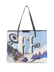 Mary Katrantzou U Melina Coated Canvas Tote