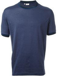Brioni Slim Fit T Shirt Blue