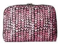 Le Sport Sac Xl Essential Cosmetic Painted Hearts Pink Cosmetic Case