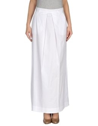 Max And Co. Long Skirts White