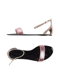 Anna Baiguera Footwear Sandals Women Pink