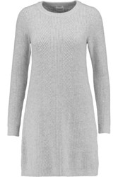 Madeleine Thompson Willington Wool And Cashmere Blend Sweater Gray