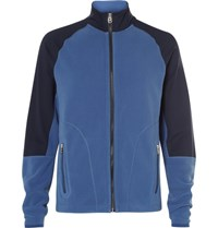 Bogner Marius Panelled Fleece Mid Layer Jacket Blue