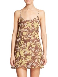 Ondademar Wild Silk Short Dress Multi