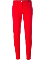 Kenzo Slim Fit Jeans Red